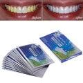 14 Pares Nuevos Dientes Advanced Whitening Tiras de Gel de Cuidado de la Higiene Oral Clareador Dental Blanqueamiento Dental Blanqueador Blanquee blanqueo Herramientas