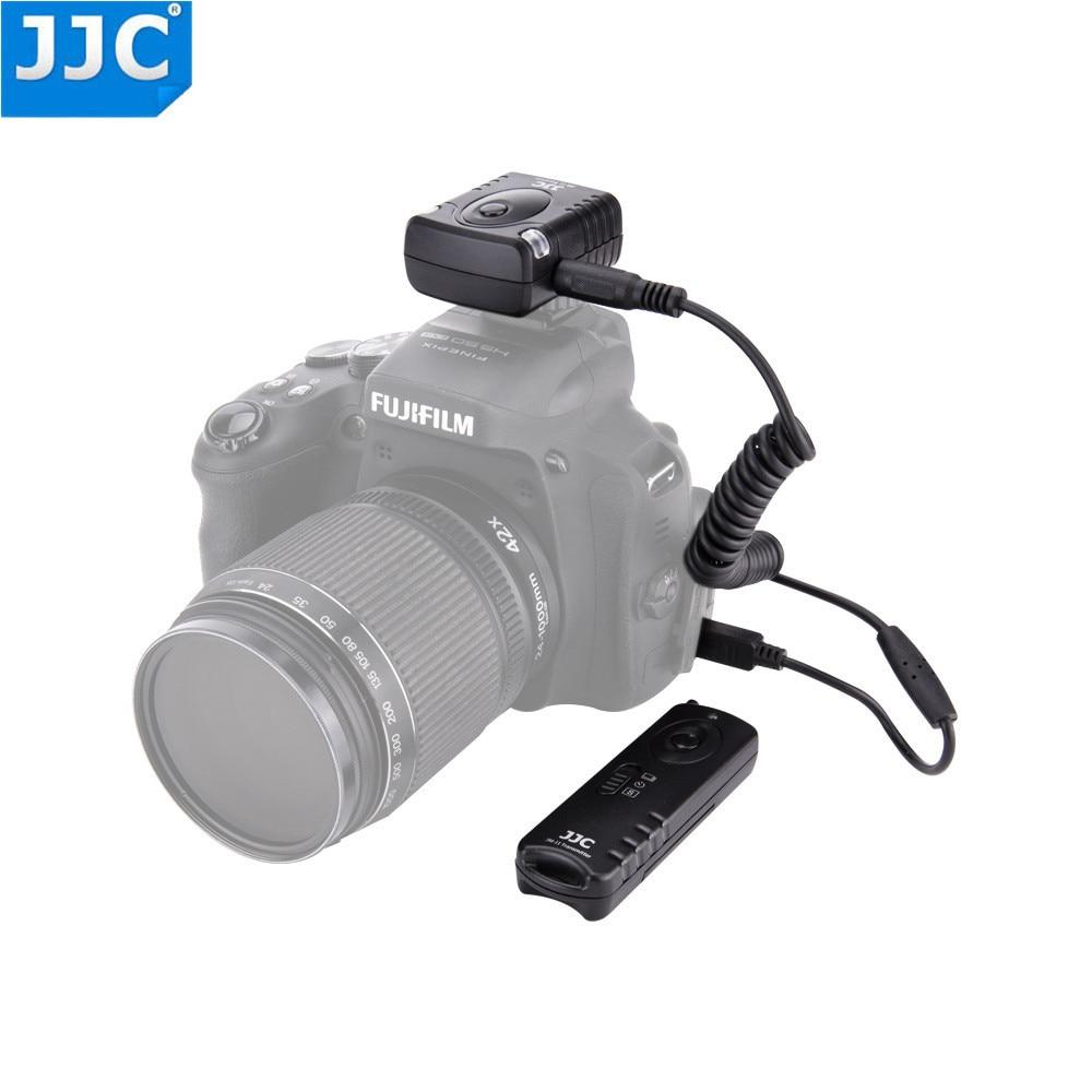 JJC JM-K(II) Wireless Shutter Release Remote For Fujifilm X-S1 X-E1 FinePix HS30EXR HS33EXR HS 20 22 25 28 EXR S9600 as RR-80 y5 goral