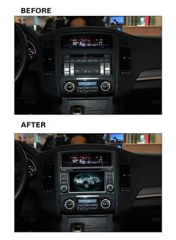 8inch 4G LTE 1024*600 octa core Android 8.0! car multimedia DVD player Radio GPS FOR MITSUBISHI PAJERO V93/V97 2006 -2010 -2019