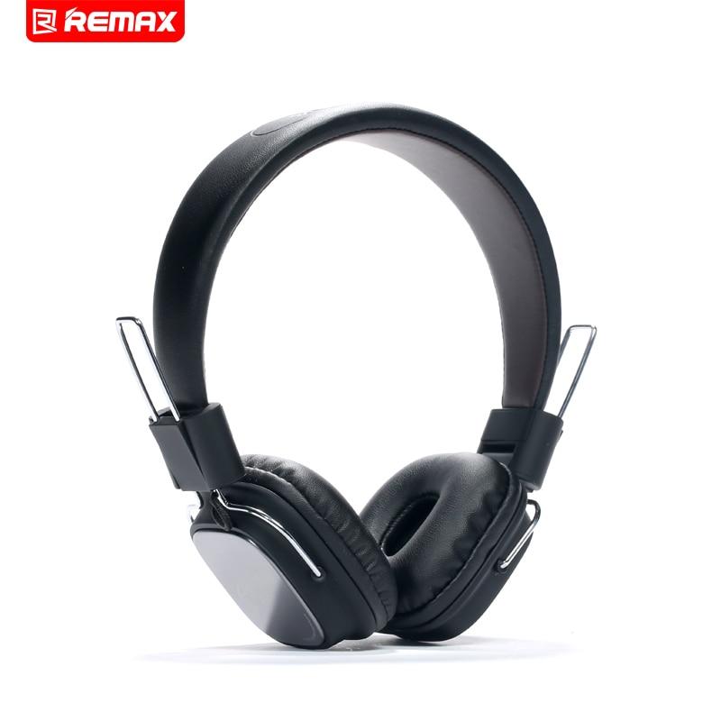 Remax 100 H Cuffie HIFI Auricolare con Microfono Pieghevole Vivavoce Principali Auricolare per iPhone Xiaomi Marshall