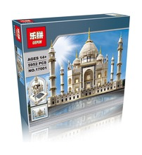 New LEPIN 17001 5952pcs The Tai Mahal Model Building Kits Minifigures Brick Toys Compatible  10189 Give children the best gift