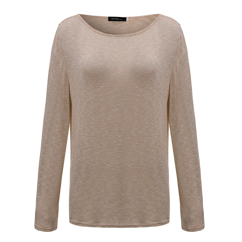 HTB1FAbdPpXXXXc9aXXXq6xXFXXXf - New Spring Casual O Neck Long Sleeve Cotton Women T-Shirts