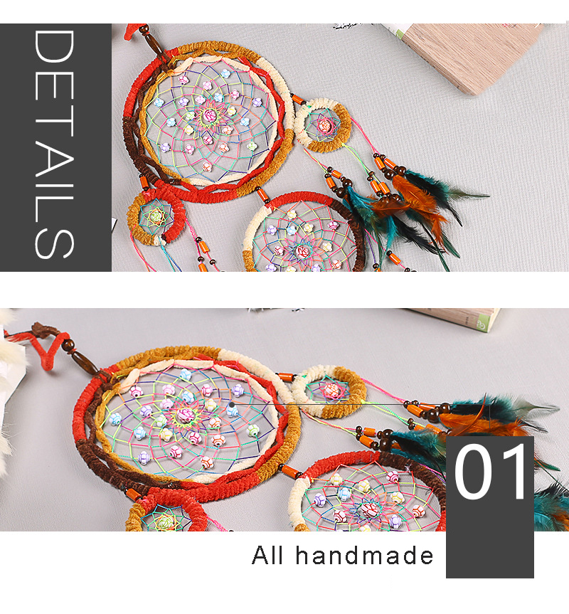 dream catchers hangingdiy kids room decoration nordic decoration home girls roomnurserykids decor dreamcatcher children room (4)