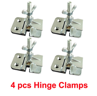 Free Shipping Promotion 4pcs Silk Screen Printing Butterfly Hinge Clamps Wholesale 2 Thickness Perfect Registration