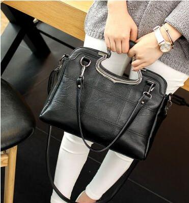 Fashion Patchwork Designer  Leather Bags Women Luxury Handbag New Brand High Quality Ladies Shoulder Bags Women Bag
