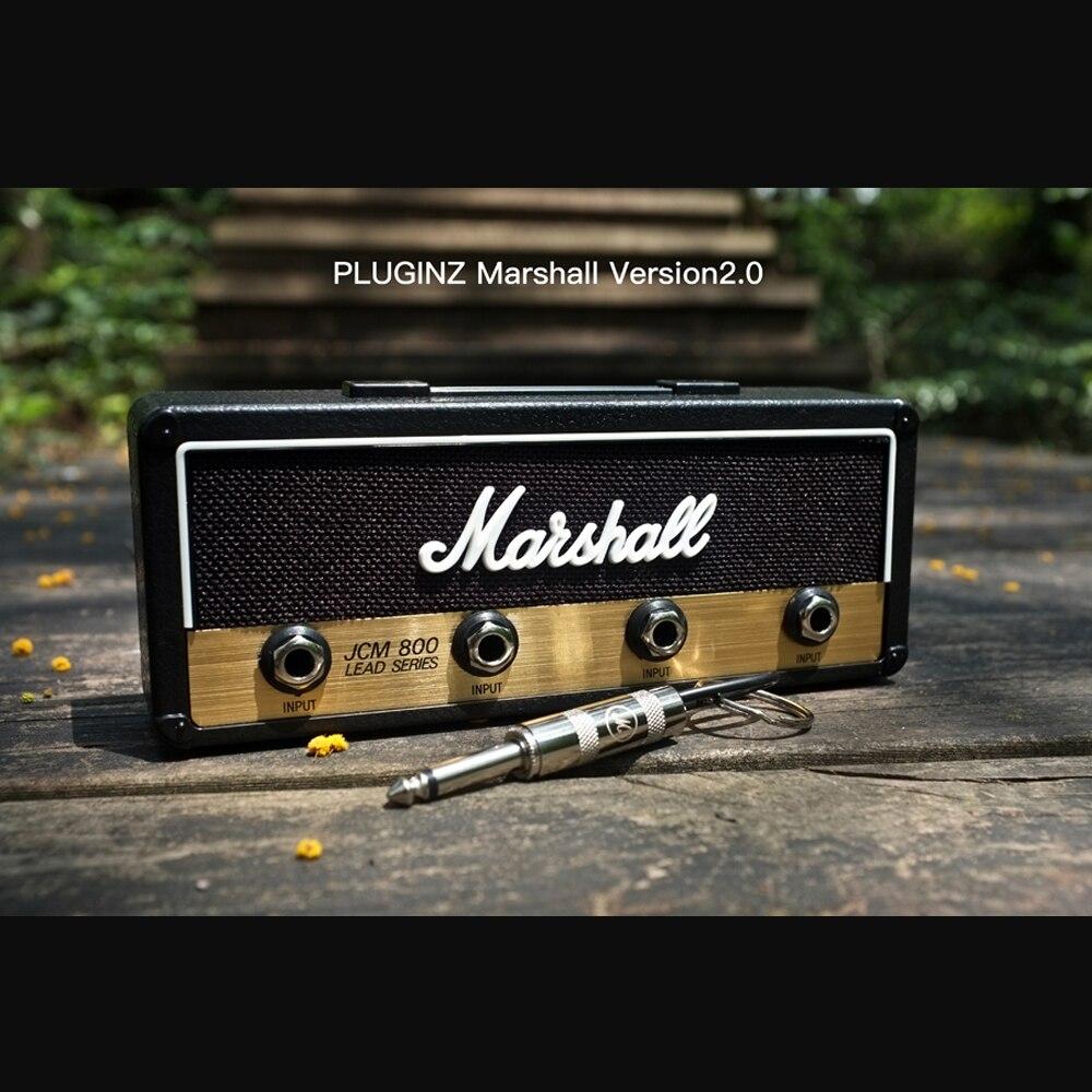 Image 2 - Marshall Key Holder Rock Electric Guitar speaker key hanging Key hook Storage Keychain Vintage  JCM800  1959SLP BULLET GP69-in Guitar Parts & Accessories from Sports & Entertainment
