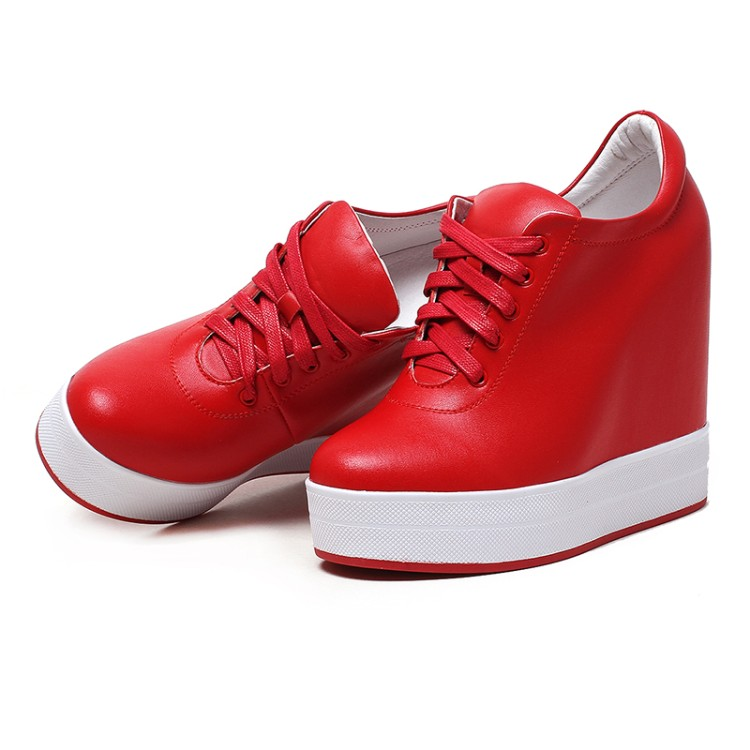 Zorssar Women sneakers Shoes high heel pumps 2018 New Womens Wedges Height Increasing Casual shoes Ladies Platform Shoes in Women 39 s Pumps from Shoes