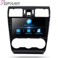 Autoradio Car Navigation Player For Subaru Forester 2013 Android 8.1 10.1'' Car Stereo GPS Navigation NO DVD Double Video 2 din