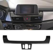 Painel de Controle de Navegação Interior do carro Guarnição Capa para BMW Série 2 F45 F46 218i 220i 2015-2017 ABS Car acessórios