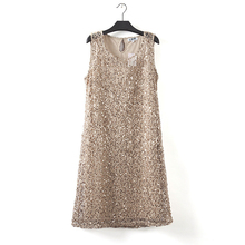 stretchable new fashion women summer font b dress b font sleeveless gray casual font b dresses