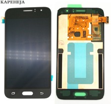 New Super AMOLED LCD Display For Samsung Galaxy J1 2016 J120 J120F J120H J120M LCD Display Touch Screen Digitizer Assembly hot selling j120 lcd for samsung galaxy j1 2016 j120f sm j120f j120h lcd display touch screen digitizer for samsung j1 j120f