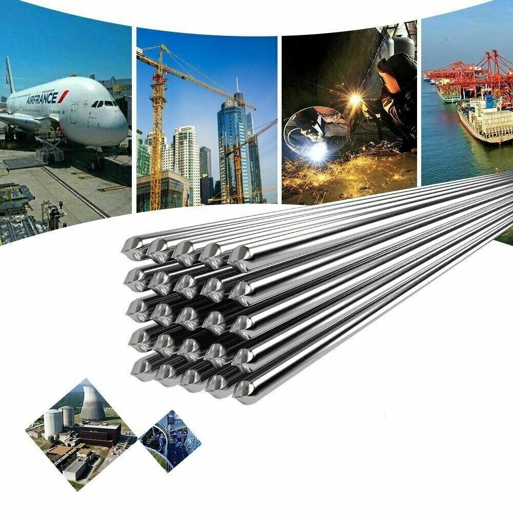 Bahan aluminium, bukan timah, sehingga mampu bertahan hingga suhu yang lebih tinggi. Dan hasil tambalan memiliki konduksi yang lebih baik serta menyatu.