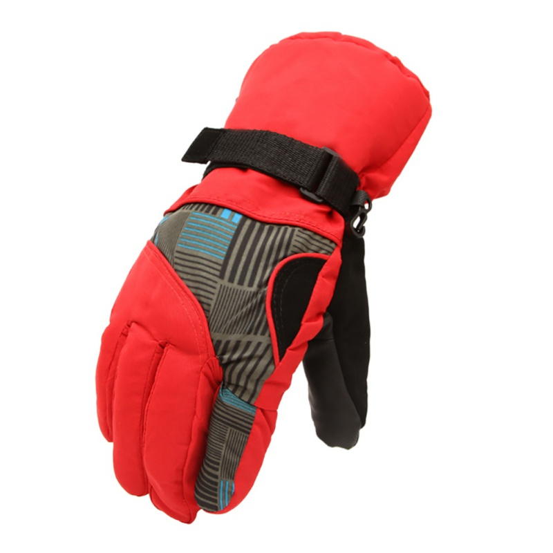 2018 New Mens Winter Warm Outdoor Sports Thermal Motorcycle Gloves Windproof Snowboard Skiing Gloves