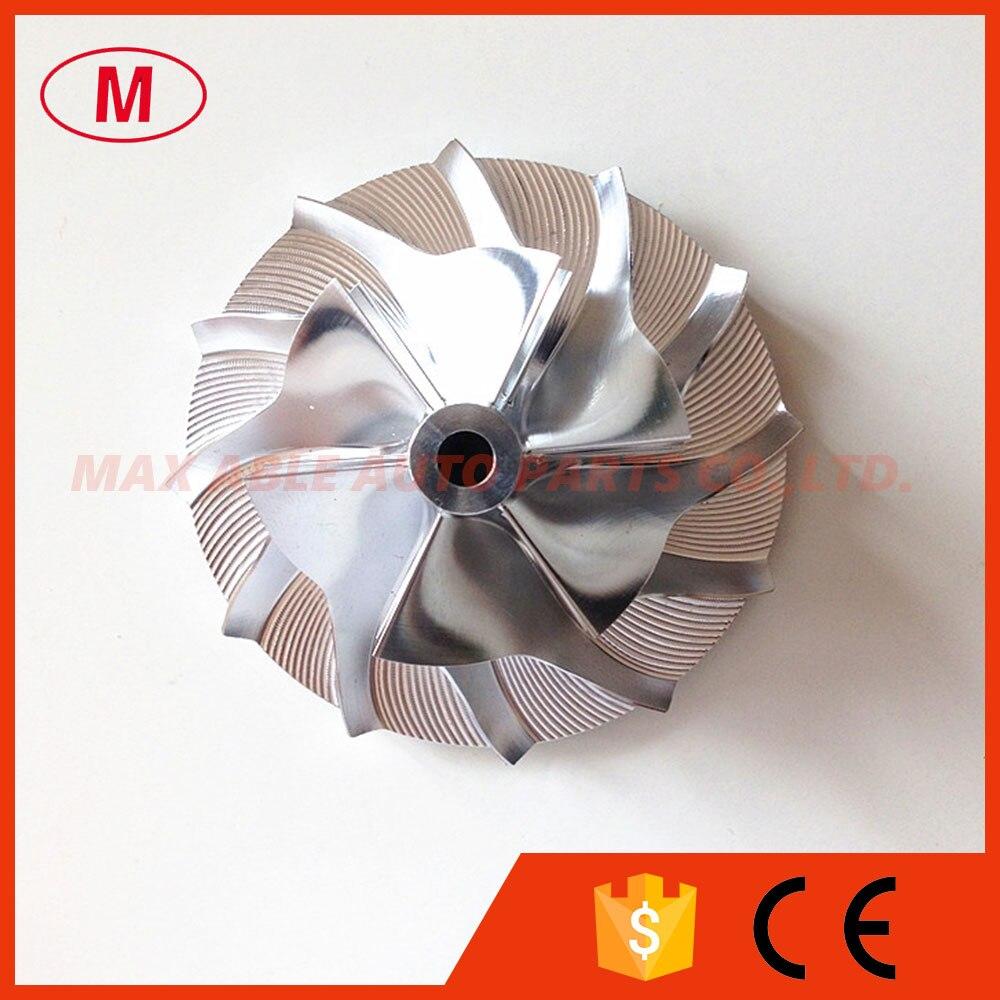 CT10 6+6 blades 42.50mm61.00mm Turbocharger Billet compressor wheel for 17291-0L020HF TURBOCHRA
