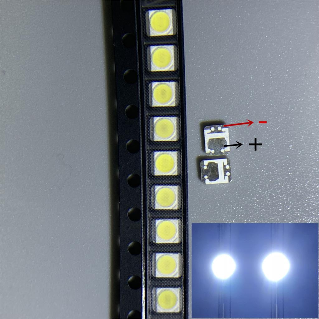 2000PCS/Lot  FOR LG SMD LED 3528 2835 1W 3V Cold White For TV/LCD Backlight