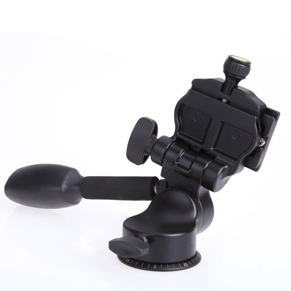 QZSD-Q08-Aluminum-Video-Tripod-Ball-Head-3-way-Fluid-Head-Rocker-Arm-with-Quick-Release (1)