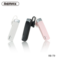 Remax T9 Bluetooth Headset Wireless Headphone Earphone French English Spanish Headset for iphone 7 6s for Samsung note 7 Xiaomi