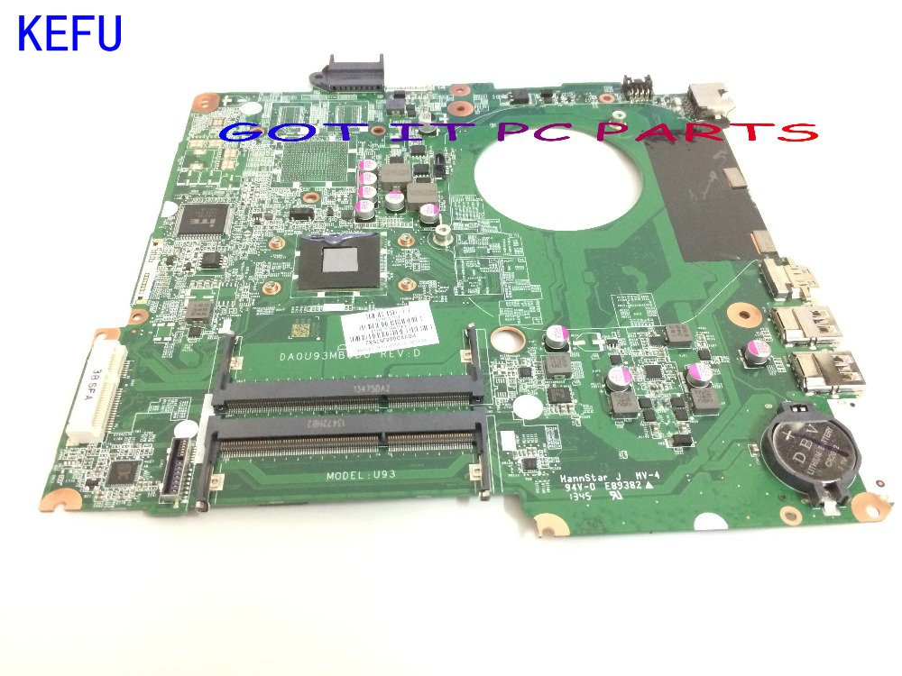 KEFU STOCK +FREE SHIPPING 734826-501   Laptop Motherboard For HP Pavilion 15-N NOTEBOOK PC конструктор конструктор забияка крокодил 1305717