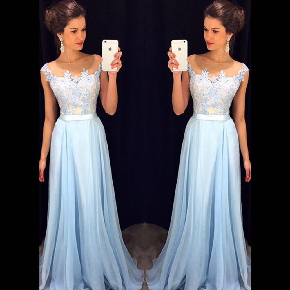 Online Get Cheap Light Blue Prom Dresses -Aliexpress.com | Alibaba ...