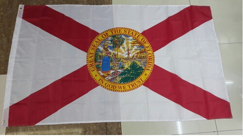 3x5FT High quality Florida Flag United States of America College Flag custom Flag image