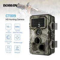 BOBLOV CT009 Hunting Camera 16MP Trail Camera Farm Security Wild Cameras IR Night Vision Photo Traps IP66 Cam Device For Hunting