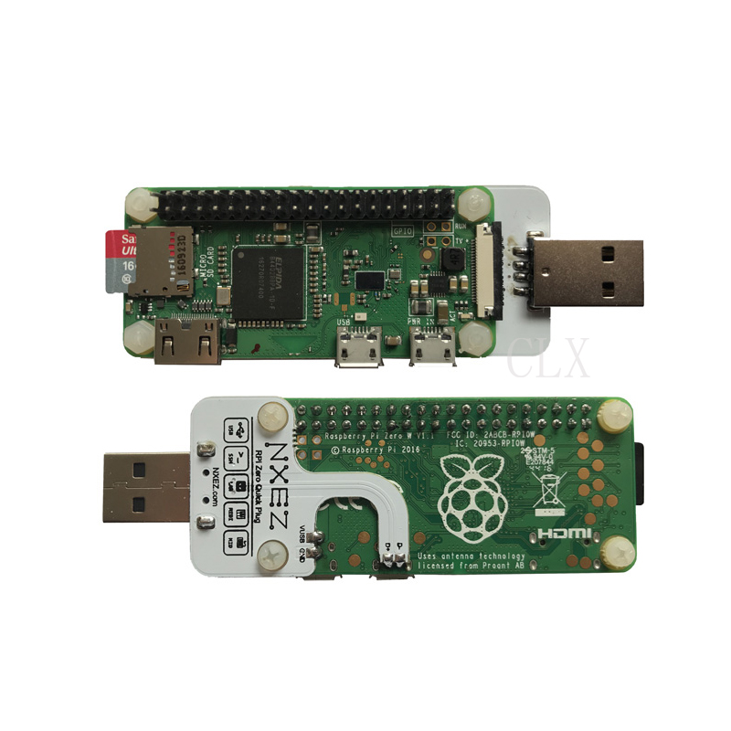 Raspberry Pi Zero Multifunction USB Plug Zero Quick Plug Usb/Ethernet BADUSB Free Shilpping