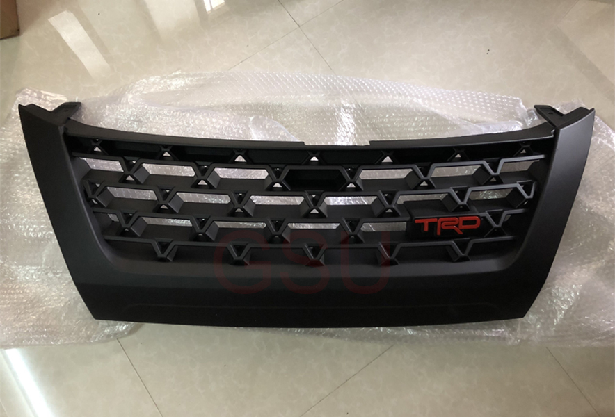 High quality Modificate ABS car front grille racing grills grill for Fortuner T R D style 2016 2017 2018 in Racing Grills from Automobiles Motorcycles