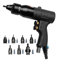 M3/M4/M5/M6/M8/M10/M12 Pneumatic Riveting Gun Pull Nut Automatic Air Riveter Nut Gun Tool