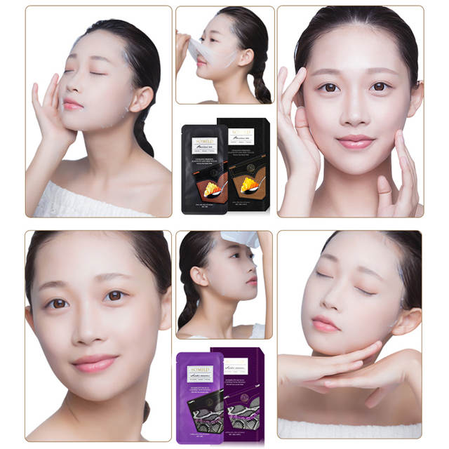 US $1 47 26% OFF|SOMILD Skin Care Mask for Face Snake Venom Whitening Face  Mask Hyaluronic Acid Moisturizing Eye Patch Korean Cosmetic Beauty-in
