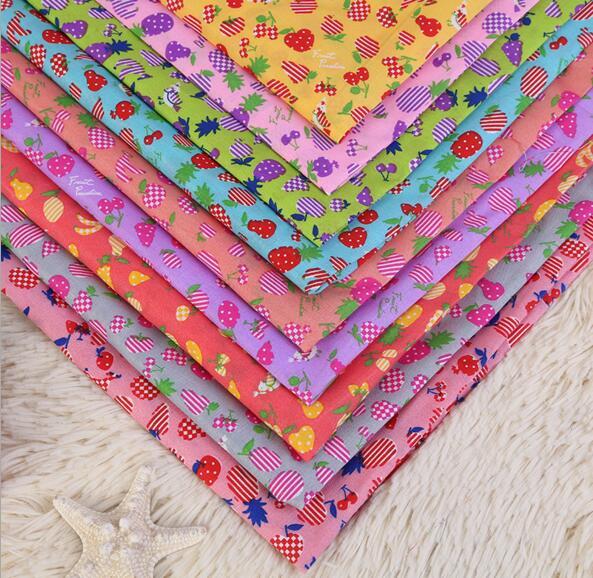 148*100 cm fruta múltiples de Poliéster para Niños Tejido ropa de Cama textil pa
