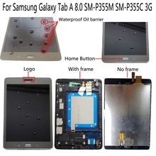 Shyueda Orig New For Samsung Galaxy Tab A 8.0 P355 SM-P355M SM-P355C 3G 768 x 1024 New LCD Display Touch Screen Digitizer original 1024 768 onyx boox c63ml reader daily edition display with backlight ebookreader lcd panel touch digitizer