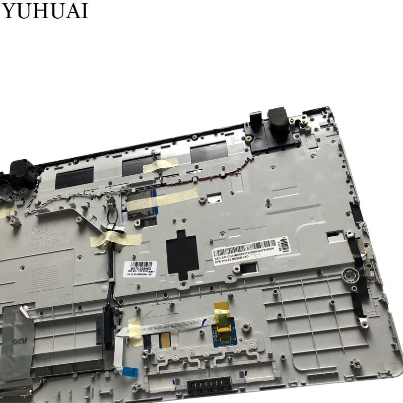 Nouveau pour samsung NP300E5A NP305E5C NP300e5x NP305E5A 300E5A 300E5C 300E5Z russe RU clavier d'ordinateur portable avec étui Palmrest Touchpad - 4