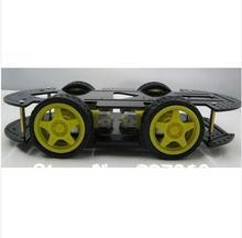 Новинка 4wd умный автомобиль шасси мобильный робот