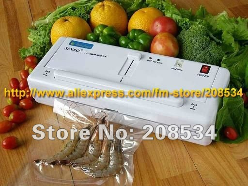Giving quick-wear part! 220V/110V DZ-280 Household Vacuum Plastic Bags Sealing Packing Machine for food friuts