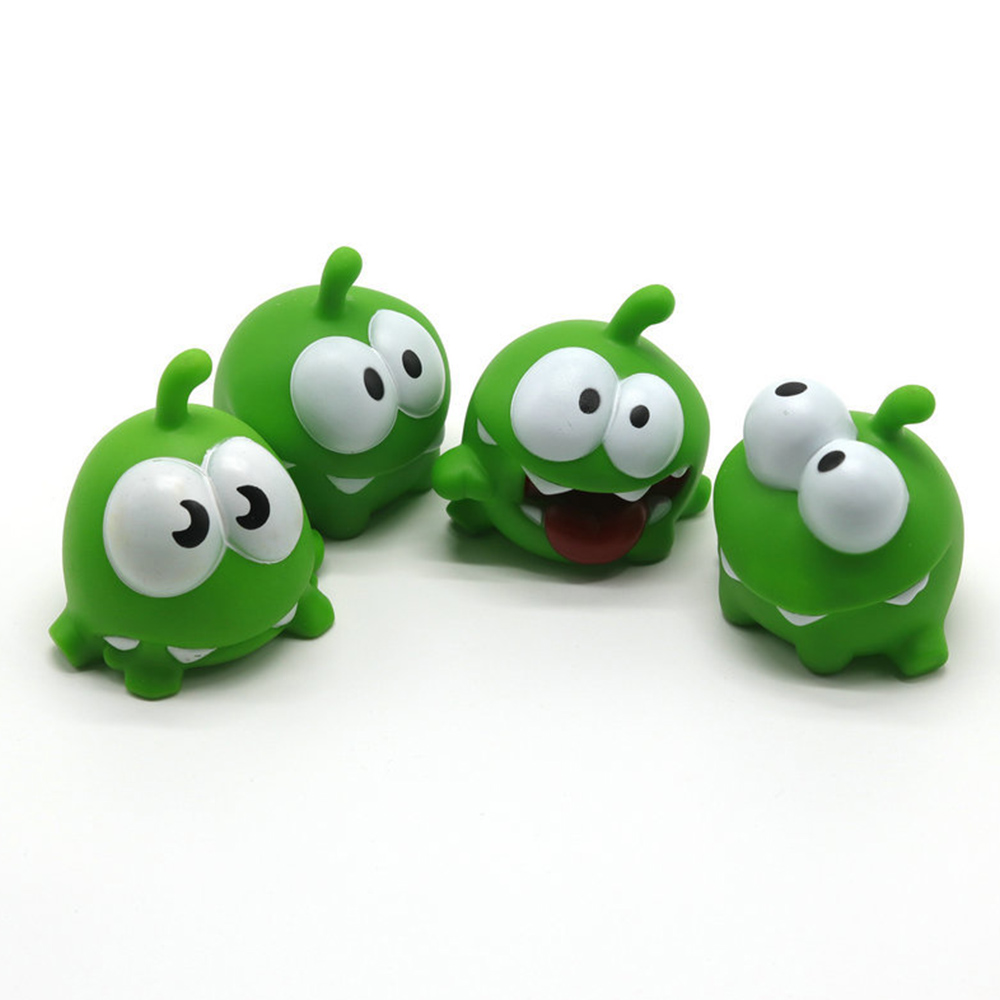 MrY 1PCS Mung Bean Frog Cut Rope Frog Cartoon Doll Pinch Called Home Decoration Plastic Cartoon Toy