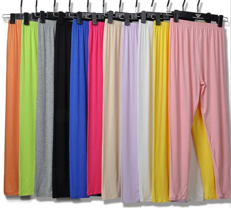 Modal bottoming legging candy pant clothing lovely elegant modest wear women cloth free ship