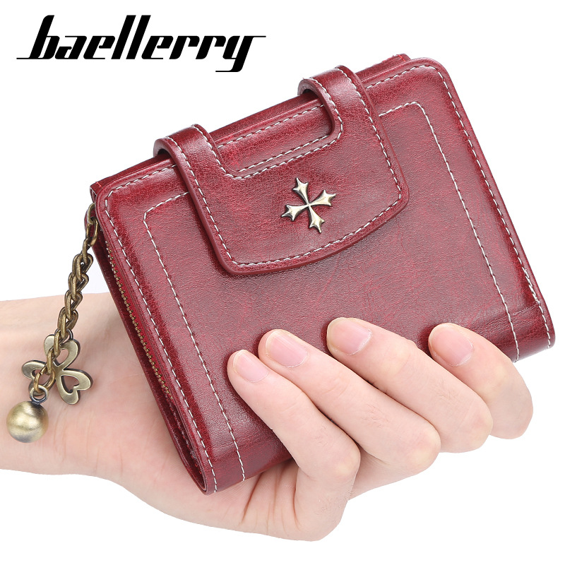 Women Wallet 2019 Tassel Small Wallet Women's Short Pu Leather Wallets Zipper Purses Portefeuille Female Purse Clutch WWS295