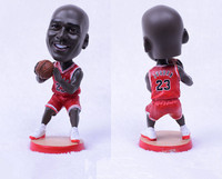 SPORTS TIME Kodoto 12 CM Resin Basketball Doll 1 15 Real Man BUL Michael 23 Figure