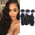 7А Свободная Волна Бразильские Волосы Девственницы 3 Норки Бразильский Волос Weave Связки Вьющиеся Weave Человеческих Волос Бесплатная Доставка