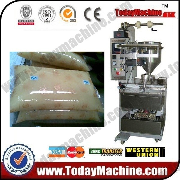 automatic grease vertical packing machine