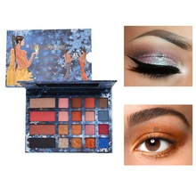 Marble Flame Eyeshadow Palette Matte Shining Warm Series Eye Shadow Charming Eyes Makeup Cosmetics Maquiagem 20 Colors