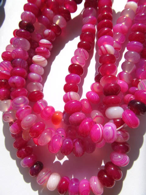 batch gergous BOTSWANA natural agate bead rondelle abacus cherry red beads 5X8mm --10strands 16inch tumbled pink botswana agate mostly 5 8 1 1lb bag