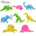 Candy-colored World Of Dinosaurs 32 Animal Model Children's Toys Model Dinosaur Toy Animal Model Doll toy Dinosaur Jurassic Park