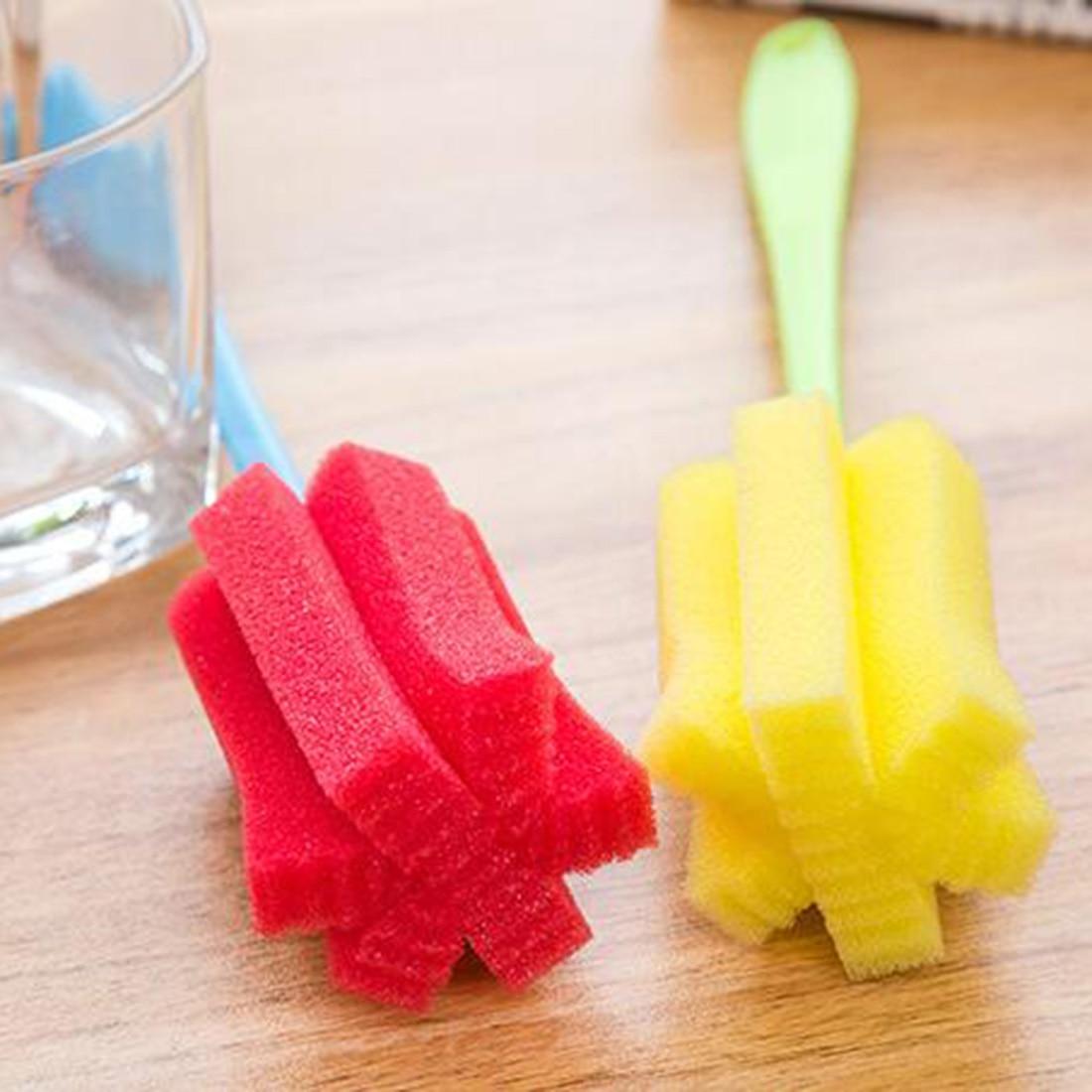 ộ_ộ ༽Mejor cocina Herramientas de limpieza cepillo de esponja para ...