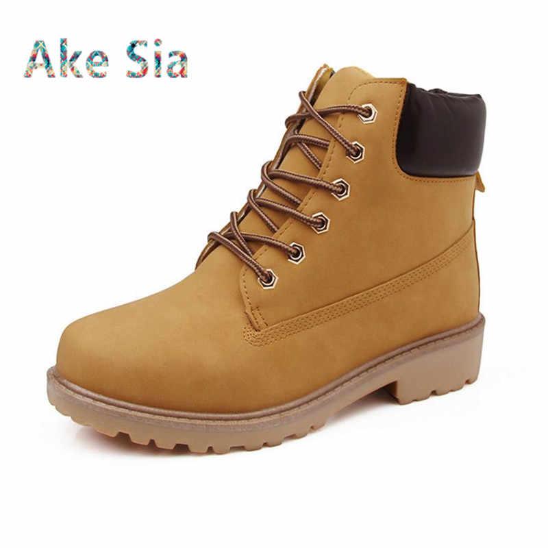 4081cf8bc8bd Новый осень 2017 г. зимние сапоги мужская зимняя обувь камуфляж теплый плюш  модный бренд Для