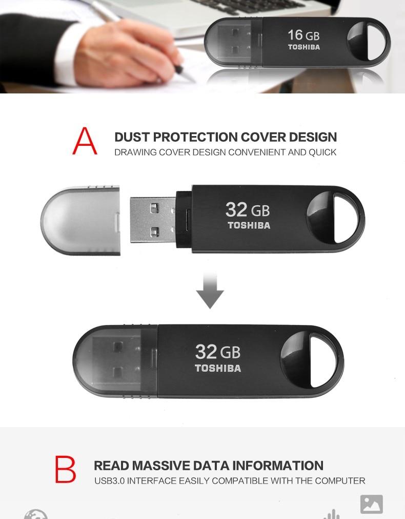 Toshiba Usb Flash Drive 30 Pen 64gb 32gb 16gb Pendrive Disc 16 Gb Getsubject Aeproduct
