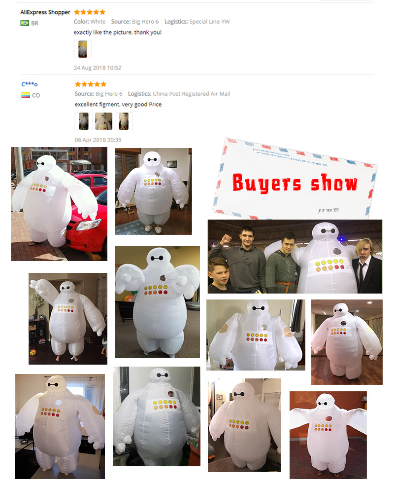 baymax inflatable cosotume 1