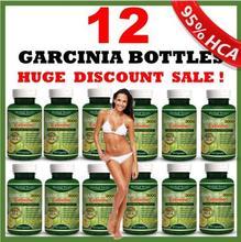 12 x GARRAFAS-3000 mg GARCINIA CAMBOGIA 95% HCA Perda de Peso DIETA Diária(China (Mainland))