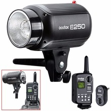 Godox E250 Photo Studio Strobe Flash Lighting Lamp Head 250W 220V+ Trigger FT-16