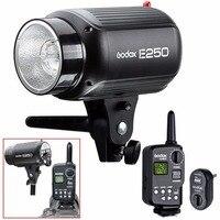 Godox e250 Аксессуары для фотостудий строб вспышки Освещение лампы Глава 250 Вт 220 В + триггер футо 16